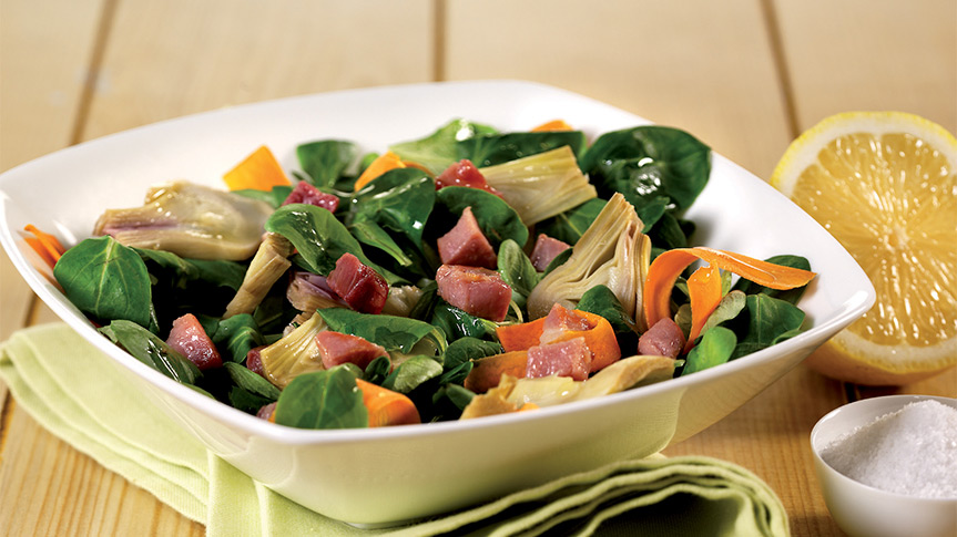 Fratelli beretta gusto e benessere insalata di soncino for Soncino insalata